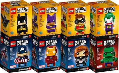 Lego 41588 Brick Headz The Joker lego brickheadz 2017 les visuels officiels hellobricks