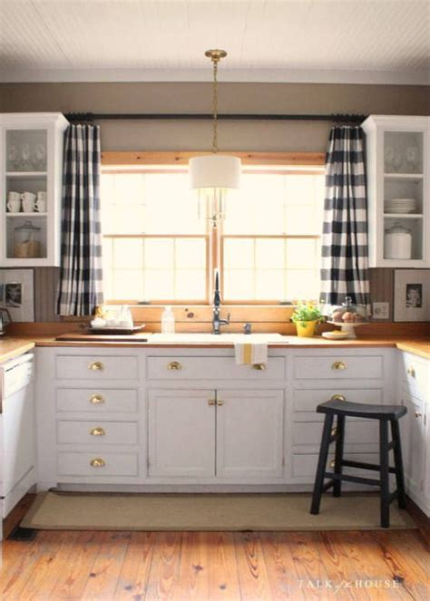 kitchen sink curtain ideas 25 best ideas about plaid curtains on pinterest plaid