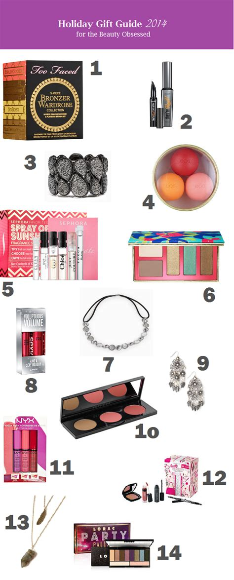 gift guide 2014 for cheapskatebeautyblogger gift guide 2014 for the