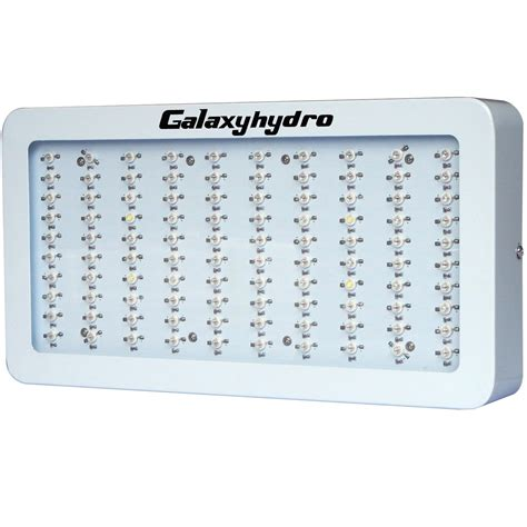 Led Grow Light Bulbs Review Galaxy Hydro 600w Led Grow Light Review An Excellent Budget Friendly Choice 101 Growlights
