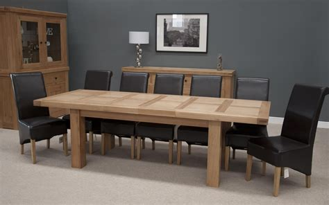 hippo oak large dining table  leaf cm cm  cm