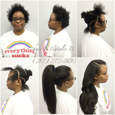 Hairstyles With Tracks Sewed In by 17 Best Ideas About Versatile Sew In On Sew