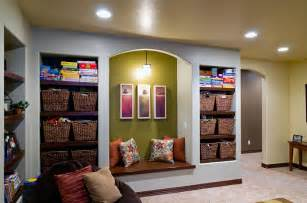 Finished Basement Storage Ideas Pinehurst Basement Shelving Storage Finished Basement Company
