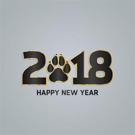 modern new year grey modern new year 2018 design vector free