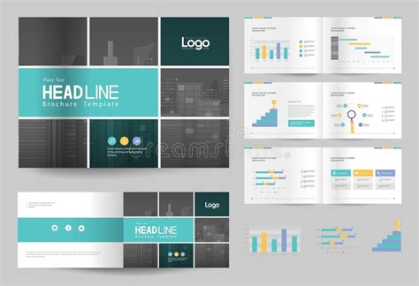 company profile content design business brochure design template and page layout for