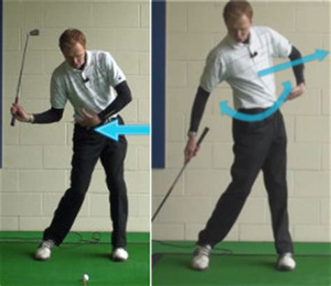 causes of over the top golf swing golf swing how to best way to turn your hips