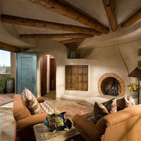 southwest style pueblo desert adobe home southwest