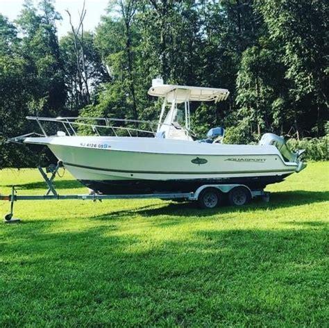 aquasport boats for sale nj 2001 used aquasport 225 osprey center console fishing boat