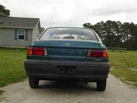 auto air conditioning repair 1994 toyota tercel head up display sell new no reserve 1994 toyota tercel 4 cyl manual trans like corolla or civic in quantico
