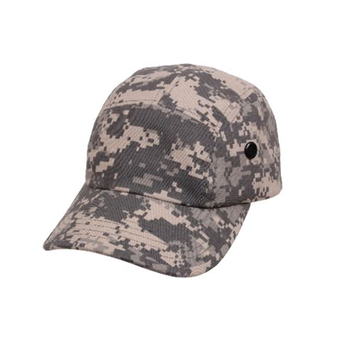 5 panel airsoft acu digital camo