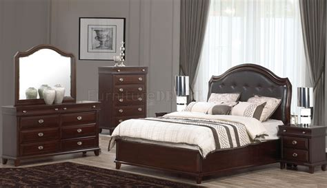 Tufted Bedroom Set by 5pc Bedroom Set W Tufted Headboard Options