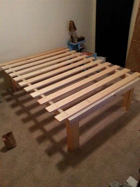 cheap  easy diy queen platform bed