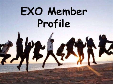 which exo member are you exo member profile