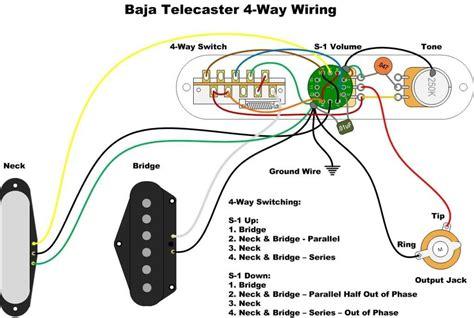 diagrams telecaster   baja  custom
