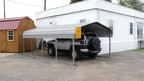 Single Carports One Car Carports 1 Car Carports