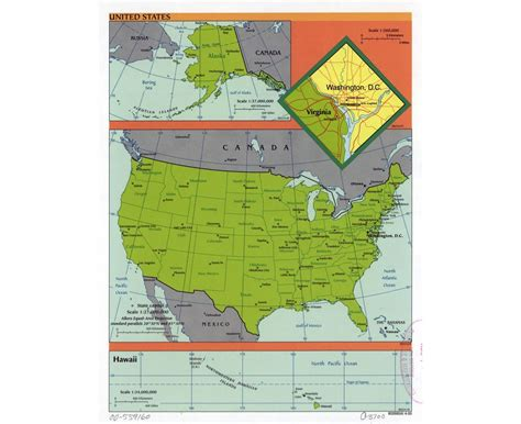 scale map of the united states maps of the usa detailed map of the usa the united