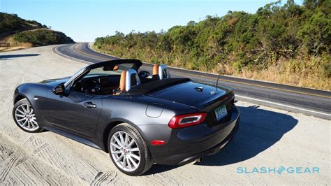 fiat spider 2017 fiat 124 spider review italy gives miata an attitude