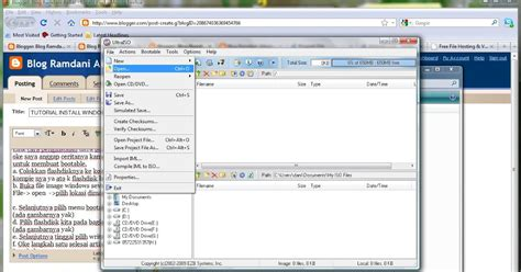 tutorial install windows 7 with flash disk blog ramdani akbar tutorial install windows 7 seven
