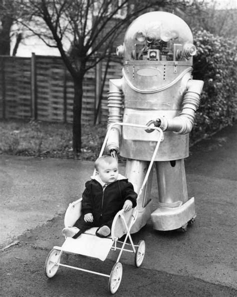 robot nanny film disturbingly odd people from the past vintage everyday