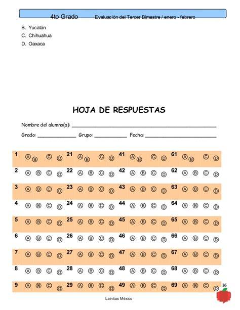 examen de 5 grado bloque 4 con respuestas examen de 5 grado bloque 4 con respuestas examen del