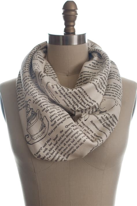 in book scarf by storiarts on etsy