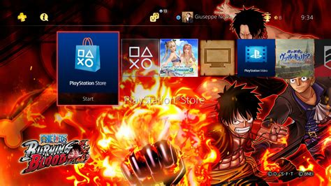 themes ps4 one piece ps4 gets new free themes the idolmaster platinum stars