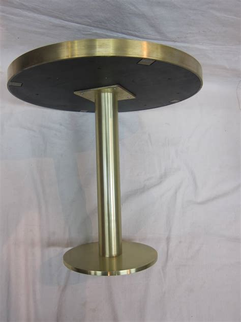 modern brass table l modern brass side table in the style of fontana arte at