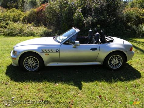 bmw z3 2 8 1998 bmw z3 2 8 roadster in arctic silver metallic