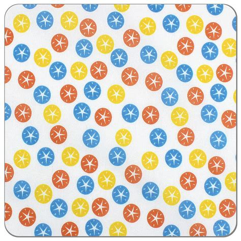 Cotton Alpha Numeric Magic Sand 1 sand dollar print pul fabric sewing supplies