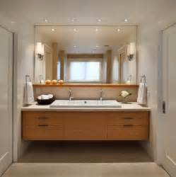 Bathroom Vanity Lighting Design bathroom lighting design placing lights on the mirror