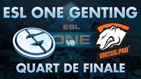 esl one genting esl one genting newbee vs vici gaming quart de finale