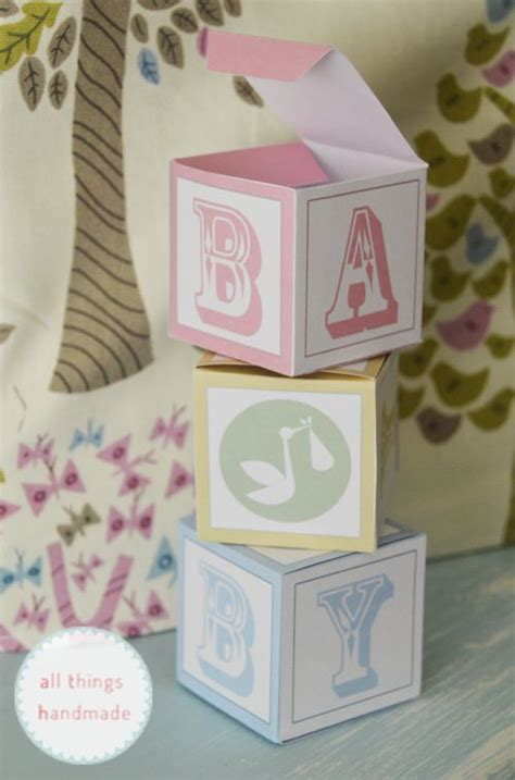 template for baby shower favors baby shower favour boxes free printable ideas