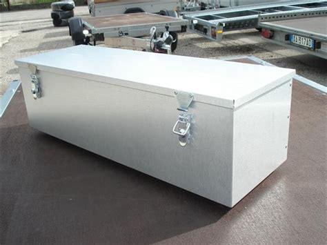 cassette metalliche box cassetta metallica per rimorchio grande