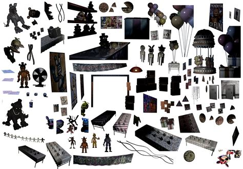 Useful Spares To by F Naf Animatronic Parts Pictures To Pin On