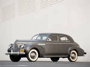 1940 Buick Sedan 1940 Buick 4 Door Sedan 51 Retro Wallpaper