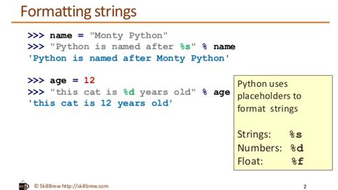 Python String Template python programming essentials m9 string formatting
