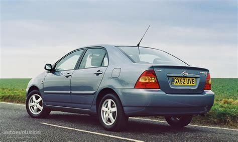toyota sedan toyota corolla sedan 2003 2004 autoevolution
