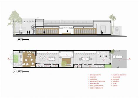 butcher shop floor plans feed meat market fgmf arquitetos projeto de perto