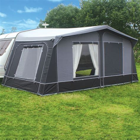 full caravan awnings leisurewize frontera lux steel full caravan awning