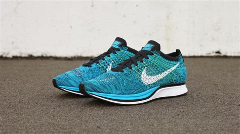 Gamis Fowly Blue nike flyknit racer blue cactus flex offense