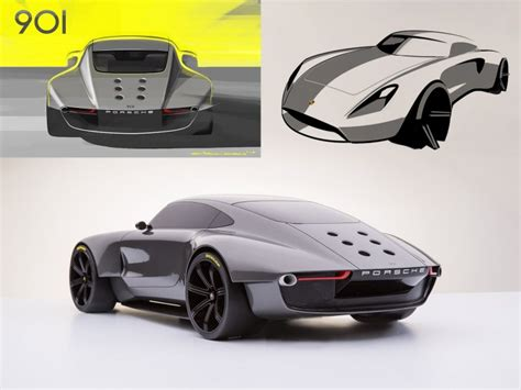 Porsche 901 Concept   Car Body Design