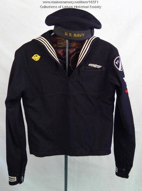 pt boat uniforms maine memory network p t boat uniform lisbon ca 1944