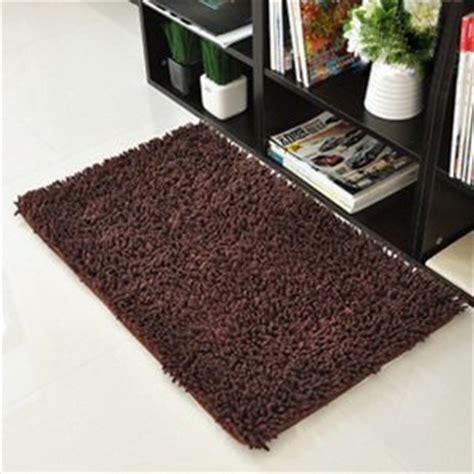 Brown Kitchen Rugs Kloud City Brown Anti Slip Microfiber Bedroom Kitchen Area Rug Carpet 24 Quot X