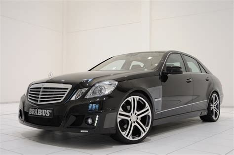 Auto Tuning Programm by Brabus Tuning Program For The New Mercedes E Klasse