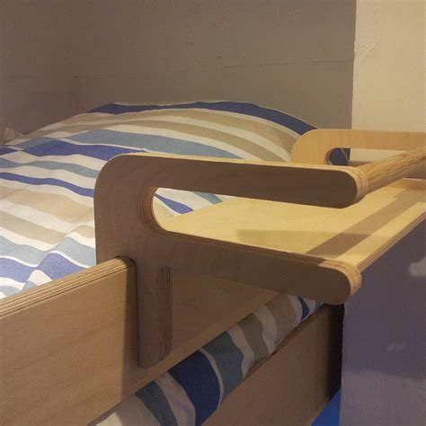 bed with shelves hook on bunk bed shelf by soap designs