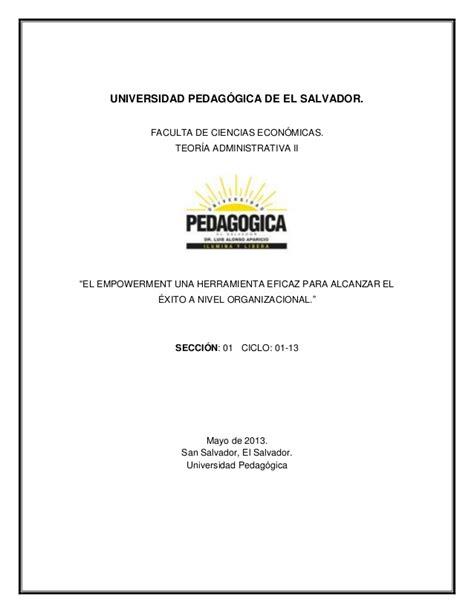 Proxima Slideshare | empowermen herramienta administrativa