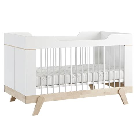 Bed Combo by Cot Toddler Bed Combo White Birch For In S A