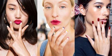 nail    york fashion week spring