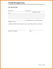 7 verbal warning form dentist resumes