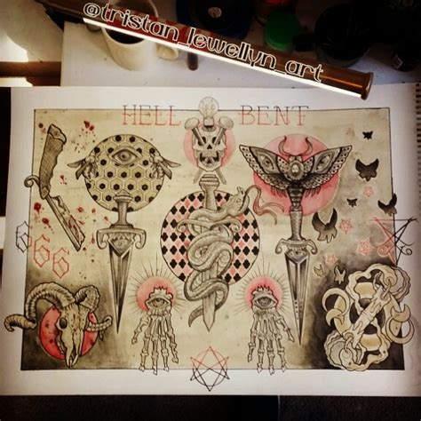 hellbent tattoos tristan lewellyn funhouse san diego